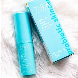 TULA probiotic cooling and brightening eye balm